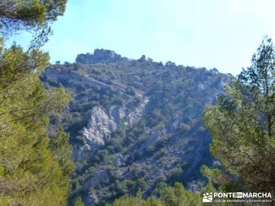 Hundido de Armallones - Alto Tajo; programa de actividades; viaje marzo;las excursiones